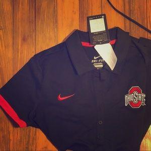 Nike Dri Fit Ohio State Collared Shirt